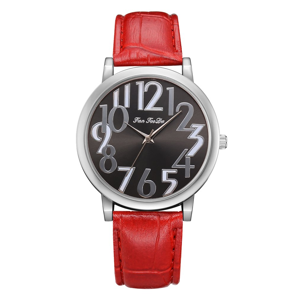 Classic Leather Strap Women Watch Simple Fashion Style Quartz Analog Wrist Watch For Dropshipping Relojes Mujer 2018