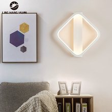White Sonces Wall Lamp For Led Light Wall 14w 16w Modern Led Wall Light For Living room Bedroom Bedside Lights Indoor Lighting