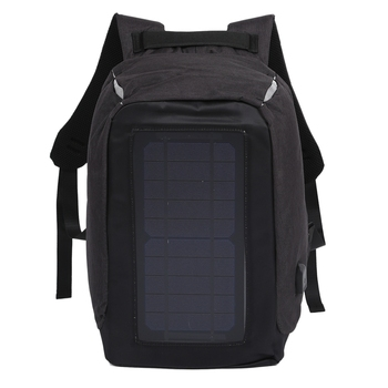Solar Backpack Anti-Theft Business Bag Travel Backpack Casual Rucksack with Solar Panel Charge for Smart Phone Men Women 1
