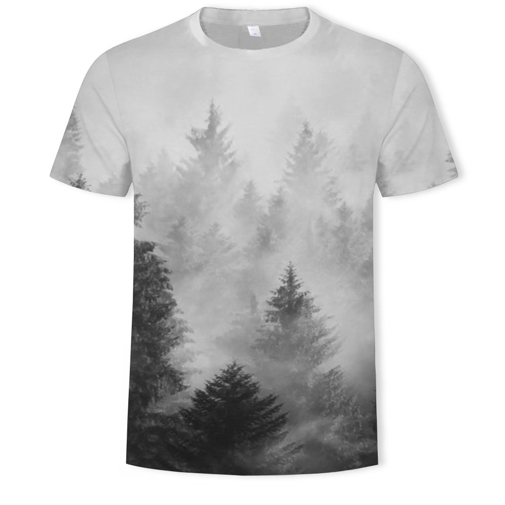 Mega Discount 5a6564 Summer Fashion Men S And Women S T Shirts 3d Forest Beauty Printing Casual T Shirt Clothing Asian Size S 6xlt Shirt Cicig Co