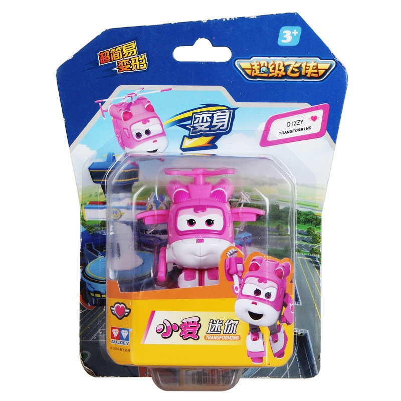 2020 New Auldey 17 Style small Super Wings deformation Mini Jett robot wing  Action Figures Wing Model toys for kids