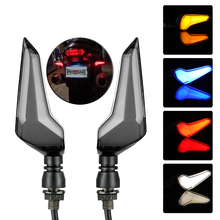 1 Pair Motorcycle LED Light Flasher Turn Signal Indicators for Kawasaki / Suzuki / Yamaha / cbr650f DRL Indicators Lamp