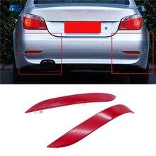 цена на JIUWAN Car Rear Bumper Reflector Light Lamp Lens for BMW E60 E61 520d 520i 520li 523li 525li 530li 2003-2007 63146915040