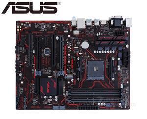 ASUS PRIME B350-PLUS оригинальная материнская плата M.2 B350 Socket AM4 DDR4 64 Гб USB3.0 USB3.1 платы SATA3 для настольных ПК