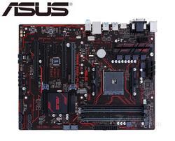 Asus prime B350 PLUS oryginalna płyta główna M.2 B350 gniazdo AM4 DDR4 64GB USB3.0 USB3.1 deski SATA3 używany pulpitu płyta główna PC w Płyty główne od Komputer i biuro na