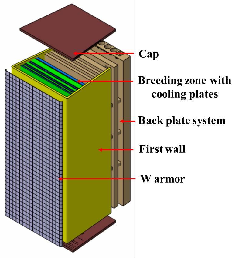 Schematic view of CFETR blanket