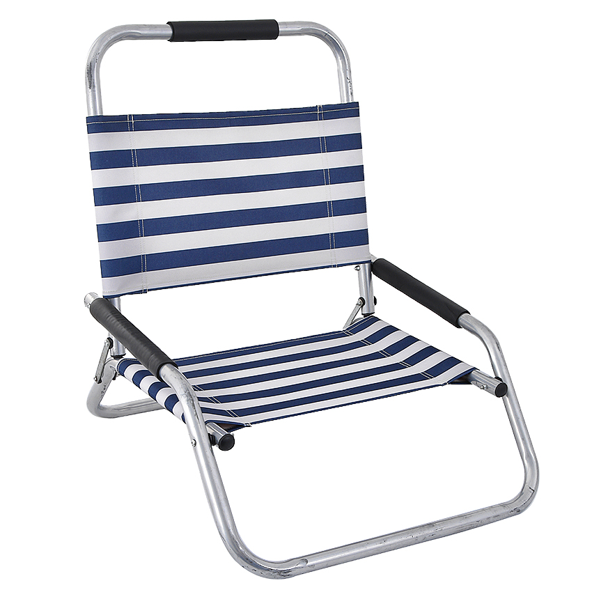 Oxford Lounge Beach Chair Folding Foldable Outdoor Camping Picnic Chairs Suit For Install On Self Balancing Scooter image