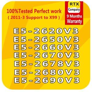 Image 1 - E5 2640V3 2623v3 2609v3 2603v3 E5 2637v3 2643v3 2658v3 2678v3 E5 2690v3 6/10/12 コアLGA2011 3 インテルxeonプロセッサe5 cpuサーバー