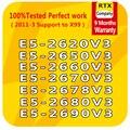 Ntel Xeon V3 Prozessor E5-2680V3 E5-2690V3 E5-2660V3 E5-2670V3 E5-2678V3 E5-2650V3 E5-2620V3 6/10/12core LGA2011-3 PC CPU server