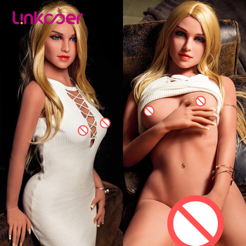 Linkooer 165cm Real Silicone Sex Dolls Robot Beautiful Smile Lifelike Life Size Oral Love Doll Realistic Adult Sex Toys For Men real silicone sex dolls adult japanese 165cm robot love doll mini vagina lifelike anime realistic sexy toys for men big breast