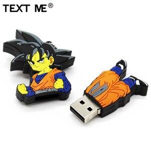 Image 3 - Sms ME cartoon Dragon Ball goku model pamięć usb 2.0 4GB 8GB 16GB 32GB 64GB pen drive