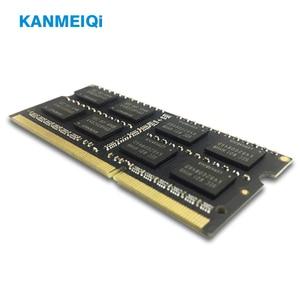 Image 3 - KANMEIQi DDR3 4GB 8GB دفتر ذاكرة الوصول العشوائي DDR3L 1333/1600MHZ 1.35v 204pin ذاكرة الكمبيوتر المحمول SO dimm جديد 2G 1.5V