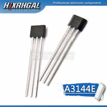 1PCS A3144E ZU-92 A3144 TO92 3144 Hall Effect Sensor(China)