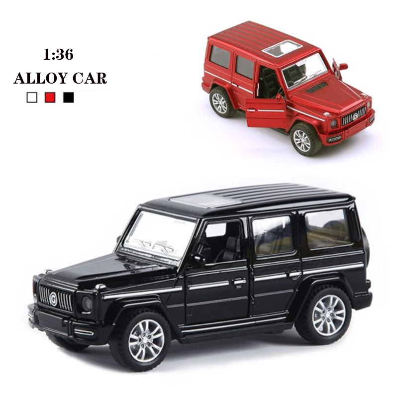 1:36 Toy Car AMG G63 Metal Toy Alloy Car Diecasts & Toy Vehicles Car Model Miniature Scale Model Boy Toys For Children