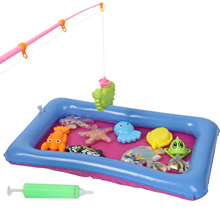 Suit Fishing-Toy-Set Pool-Safe Magnetic-Toys Play-Water Baby Children's Girl Boy