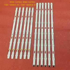 Image 2 - 12pcs LED backlight strip for UE48JU6500 UE48KU6400 UE48KU6500 UE48JU6400 UE48JU6000 UE48MU6000 UE48JU6440 UE48JU7800 UE48JU6770