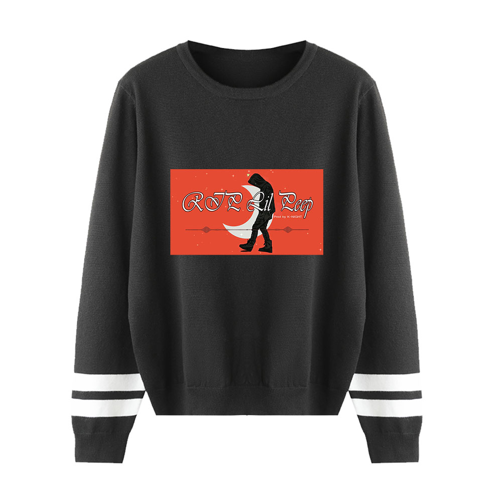 New Sweater Lil Peep Sweater Men/women Streetwear Fashion Print Pullover Classic Knitted O-neck Sweater Lil Pee Lovers Sweater