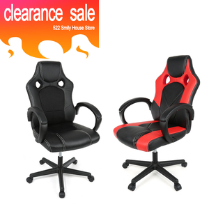 Image 1 - BIG SALE Adjustable Double hole Basic Esports Chairs Modern Office Chair Ergonomic High Back Faux Leather Computer Chairs HWC