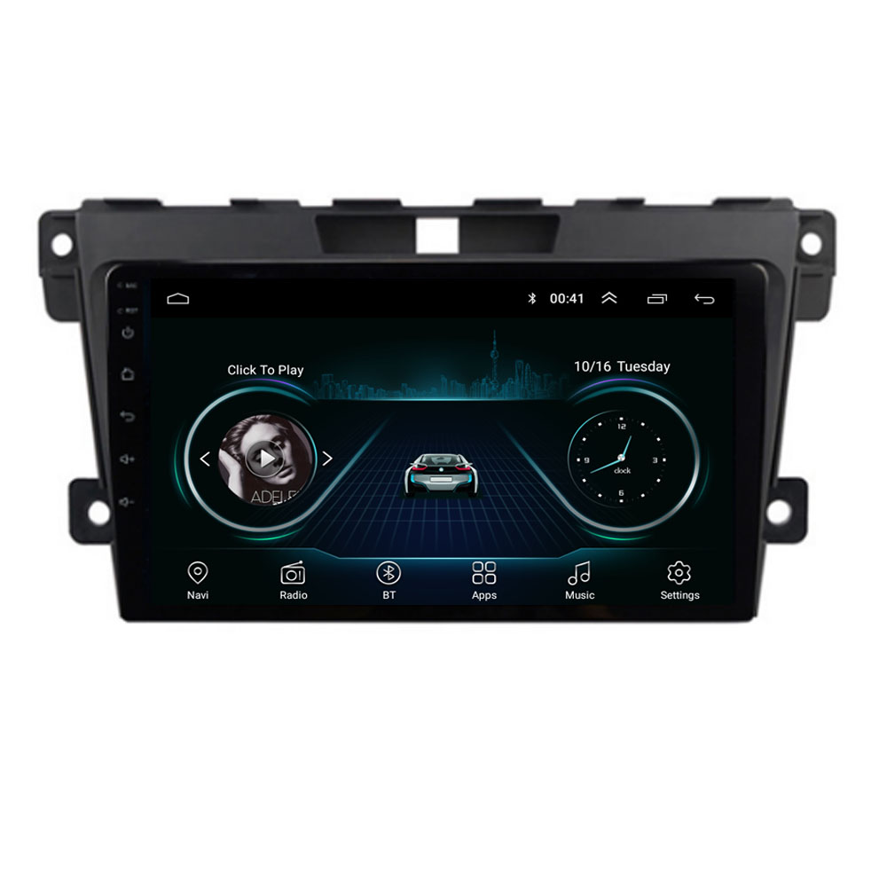 4G LTE Android 10.1 For <font><b>MAZDA</b></font> <font><b>CX</b></font>-7 CX7 <font><b>CX</b></font> 7 2008-2015 Multimedia Stereo Car DVD Player Navigation GPS Radio image
