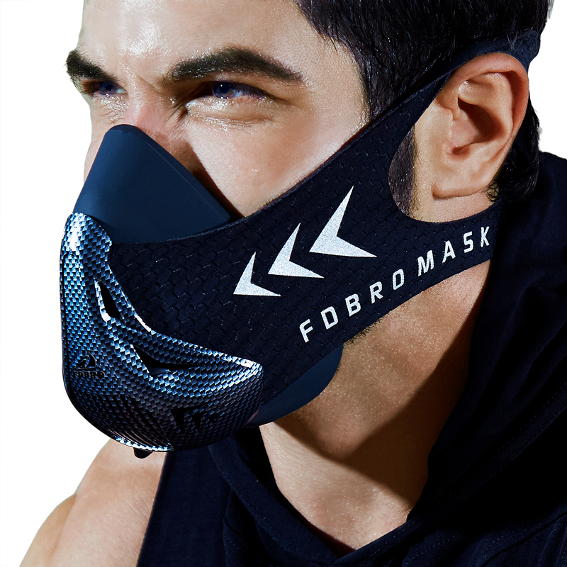 FDBRO Fitness Gym Workout Sport Mask Cycling Masks Running Cardio Training Elevation High Altitude Protective Breathing Mask 3.0