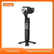 Hohem iSteady Pro 2 Gimbal 3 Axis el sabitleyici DJI Osmo aksiyon ve GoPro Hero 7/6 /5 & Yi kam ve SJCAM ve Sony aksiyon kamera