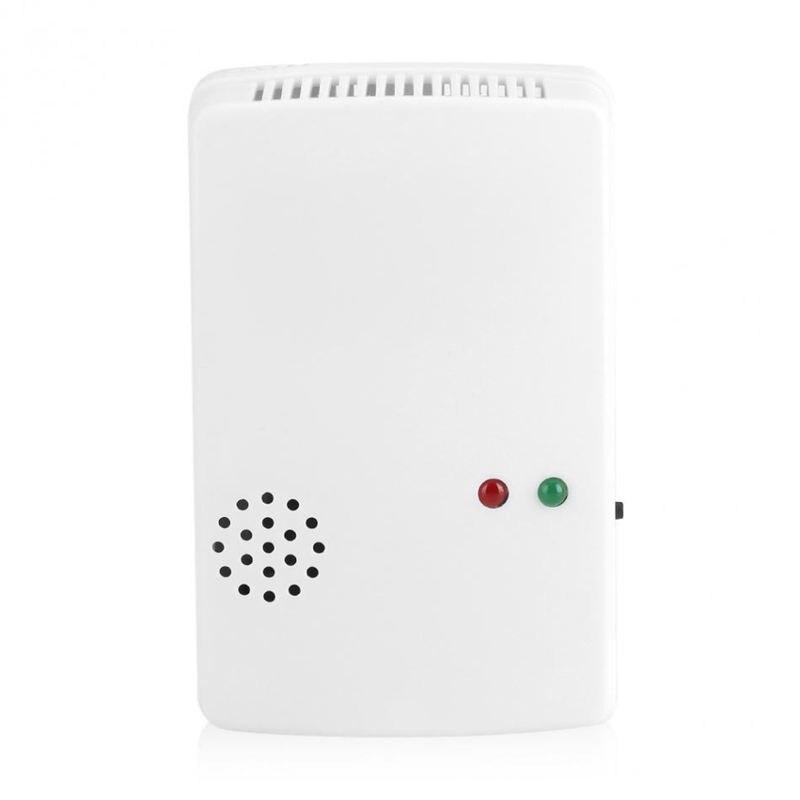 Natural Gas Coalgas Methane Poisoning Gas Leak Detector 85db Natural Gas Leak Alarm Warning Sensor Detector Home Security Tool W