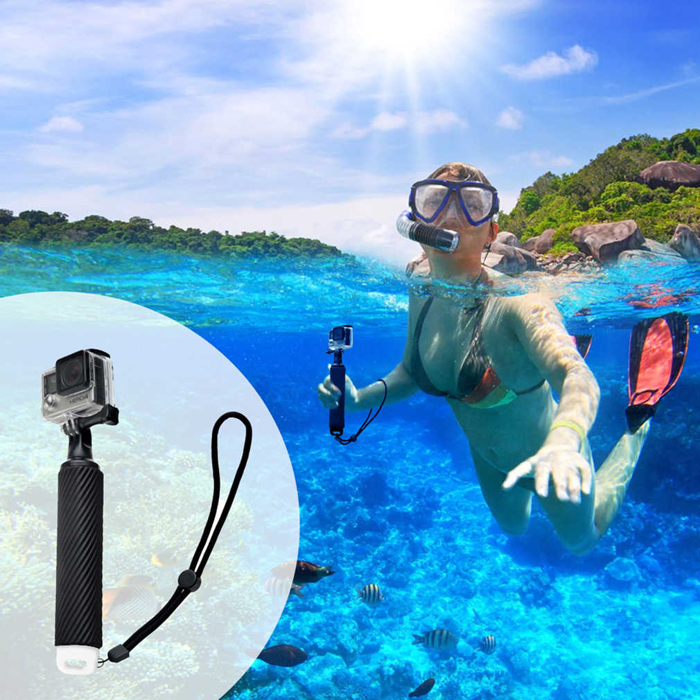 Removable Floating Grip Selfie Rod Buoyancy Action Sports Camera Handle Mount Stick For GoPro Hero/XiaoMi Yi