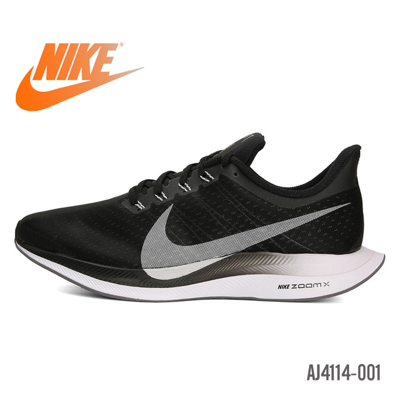 Original Nike Zoom Pegasus Turbo 35 Men Running Shoes Wear-resistant Outdoor Breathable Designer Athletic New Arrival BV6656-016