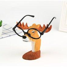3d голова животного резьба по дереву игрушка украшения деревянная