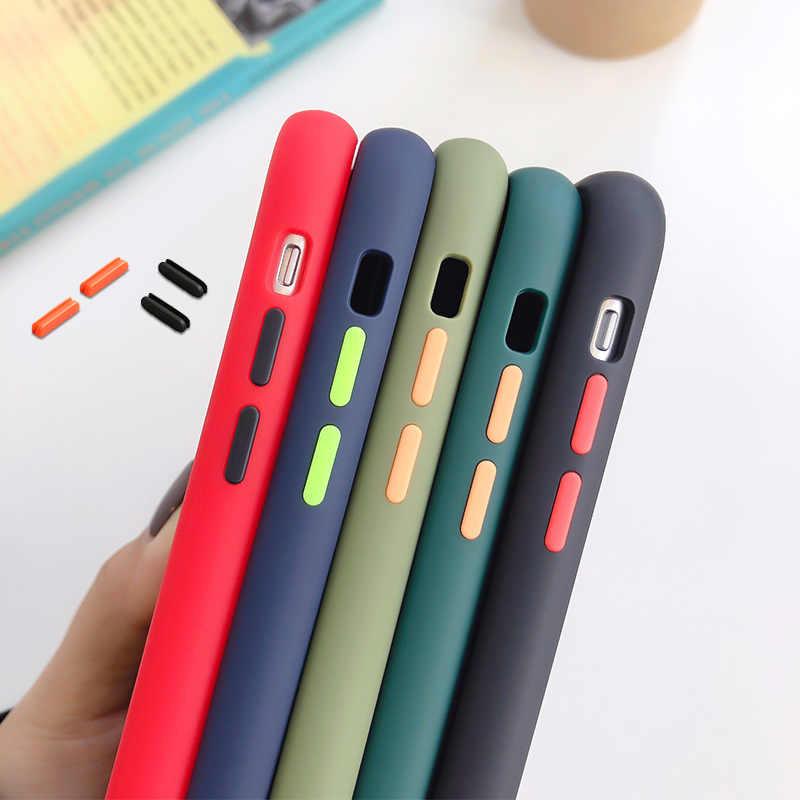 เกราะกันกระแทกสำหรับ Xiaomi Mi 9 Lite 9T Pro Mi A3 หมายเหตุ 10 Plus RedMi หมายเหตุ 8T 8 Pro 8A 7 7A K20 K30 Global Matte Soft COVER