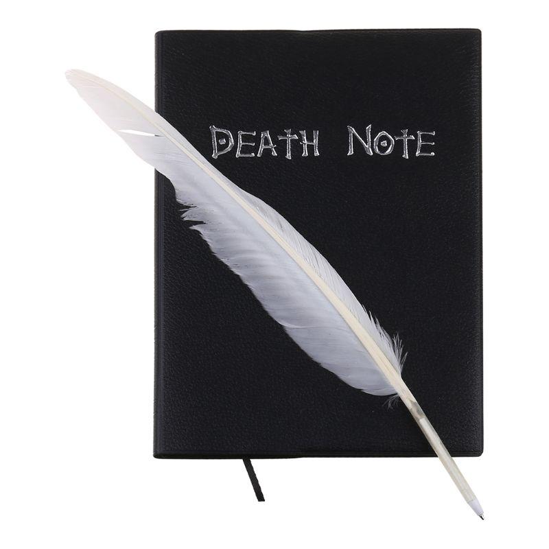 Nova nota de morte cosplay caderno & pena caneta livro animação arte escrita diário|Cadernos|   -