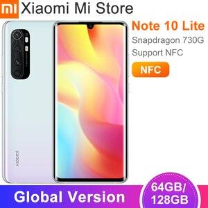 Глобальная версия Xiaomi Mi Note 10 Lite смартфон 6 ГБ 64 Гб/128 ГБ Snapdragon 730G 64MP камера 6,47