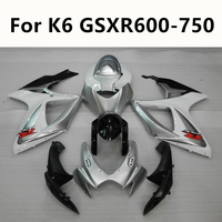 4 Colour Semicircular hook Blue silver red Motorcycle For Suzuki K6 GSXR 600 750 2006 2007 Full Fairing Kits Kit Injection
