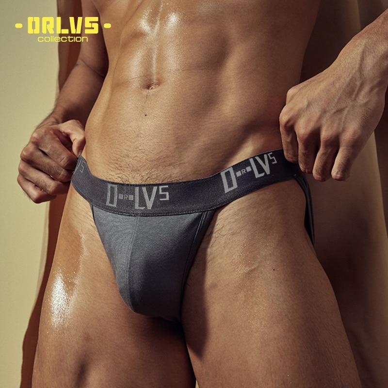 ADANNU Men Underwear Sexy Men Briefs Cotton Breathable U Convex Comfortable Underpants Quick Dry Male Pants