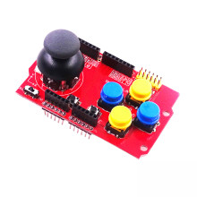 Joystick Shield for Arduino Expansion Board Analog Keyboard and Mouse Function