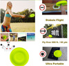 Mini Beach flying disk for outdoor sports silicone disc decompression toys to play beach entertainment toys flash sale
