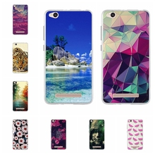 For Xiaomi Redmi 4A 4 A Case Soft TPU Silicone Fundas Cover 3D Relief Hongmi 5.0 inch Flower Phone Cases