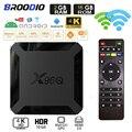2021 ТВ Box Android 10 X96Q 4K 2,4/5G Wi-Fi Allwinner H313 4 ядра Smart ТВ ящик медиа плеер 8 Гб оперативной памяти, 16 Гб встроенной памяти, X96 Смарт ТВ набор коробка
