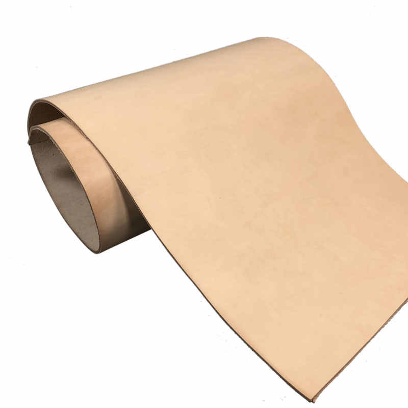 DYED VEG TAN LEATHER COWHIDE CRAFT 1.8-2mm THICK 3 COLOURS OIL-WAXED