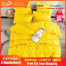 Alanna T ALLプリント固体寝具セットホーム寝具セット4 7個の高品質素敵なパターンスターツリー花