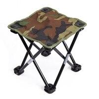Camping Wandern Strand Tragbare durable Angeln Stuhl Camouflage Klapp Hocker Leichte Freizeit Angeln Getriebe-in Anglerstühle aus Sport und Unterhaltung bei