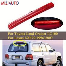 LED High Mount Third Brake Light For Toyota Land Cruiser LC100 For Lexus LX470 1