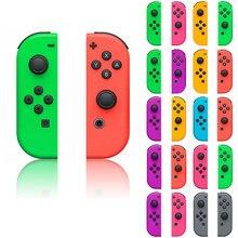 Carcasa para mando de Nintendo Switch NS JoyCon Joy Con, carcasa verde, púrpura, rosa, 1 par