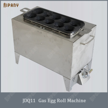 SYJ11/JDQ13/JDQ11 electric/gas egg roll maker egg roll sausage making machine fried omelette roll maker