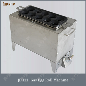 SYJ11/JDQ13/JDQ11 electric/gas egg roll maker egg roll sausage making machine fried omelette roll maker(China)