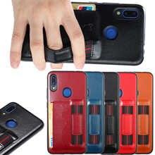 Xiaomi Redmi 7 Case Shockproof Armor Rubber Silicone Leather Phone Case For Xiaomi Redmi Note 7 Back Cover Redmi 7 7a Fundas все цены