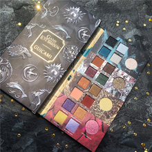 20 Color Game Thrones Eyeshadow Palette Gradient Green Makeup Pallete Shimmer Matte Glitter Pigment EyeShadow Pallete Waterproof single eyeshadow pallete empty magnet palette shimmer matte glitter eyeshadow palette pigment smoky balm makeup palette cosmetic