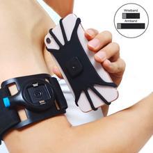 Evrensel Spor Kol Bandı iphone için kılıf Xs Max X XR 8 7 Bilek Koşu Spor Kol Bandı için Anahtar Tutucu Ile 3.5  5.5 inç Telefon
