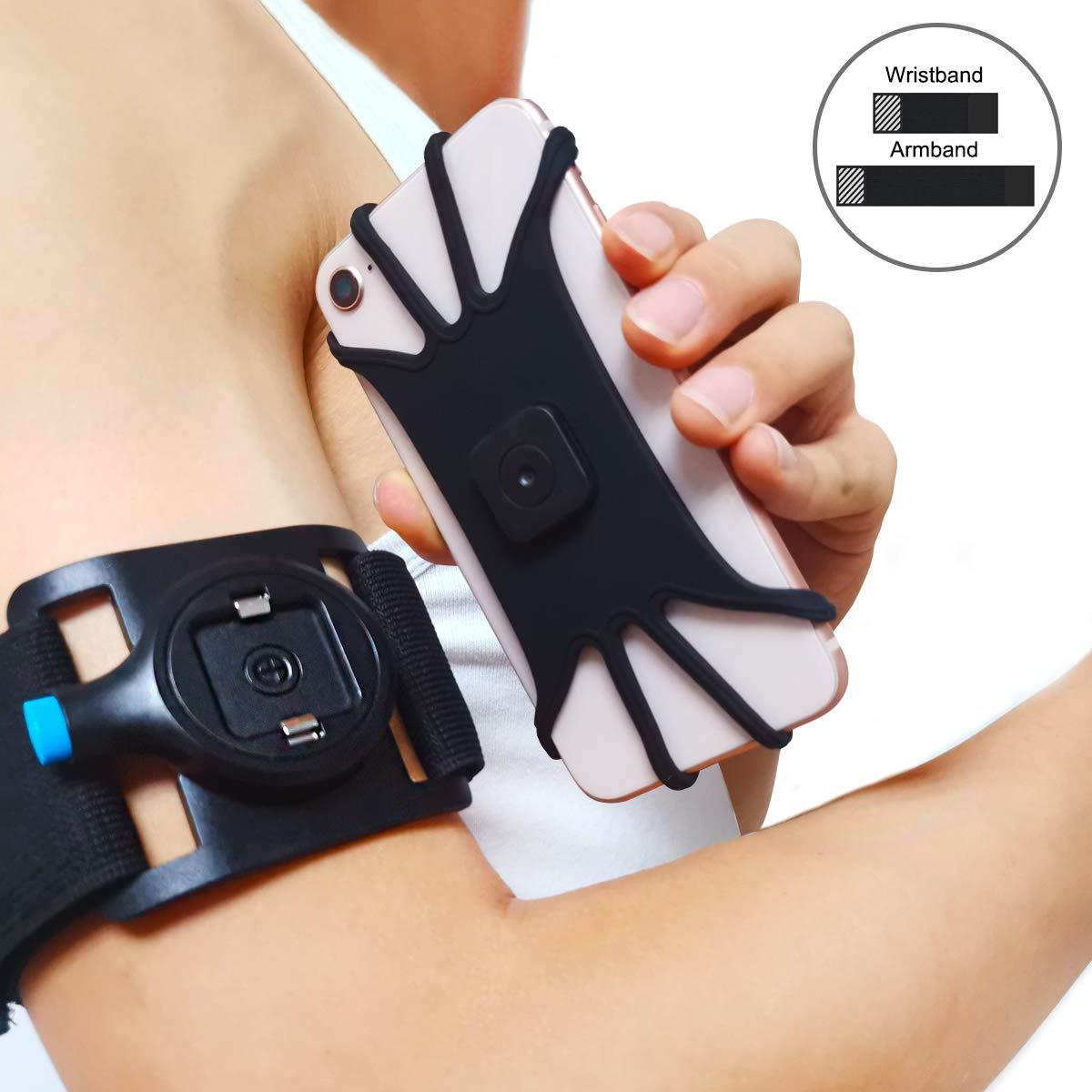 Universal Sport Armband Fall für iPhone Xs Max X XR 8 7 Handgelenk Sport-Arm-Band Mit Schlüssel Halter für 3,5-5,5 inch Telefon