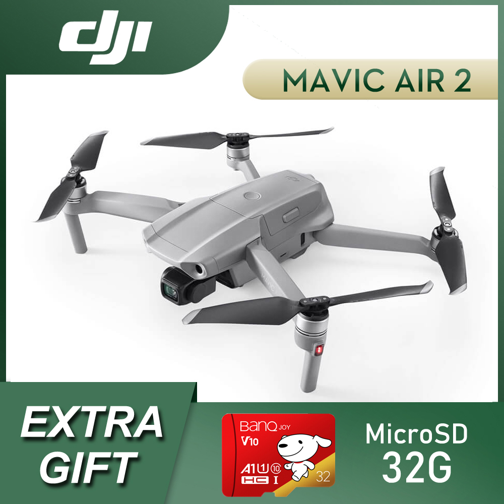 DJI Mavic Air 2 Drone Fly More Combo 34 Minutes Flight Time with Automatic Obstacle Avoidance DJI Drone Mavic Air 2|Drone Accessories Kits| - AliExpress